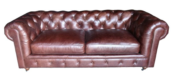 Lea Unlimited Beaufort Brown Leather Sofa LEA-1901-30-9021