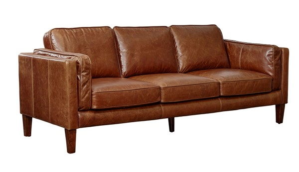 Lea Unlimited Berkley Cocoa Brompton Brown Sofa LEA-1911-30-9021