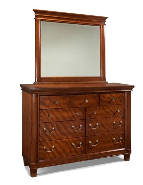 Richmond Traditional Mahogany Burnished Cinnamon Wood Dresser LGC-2200-1500