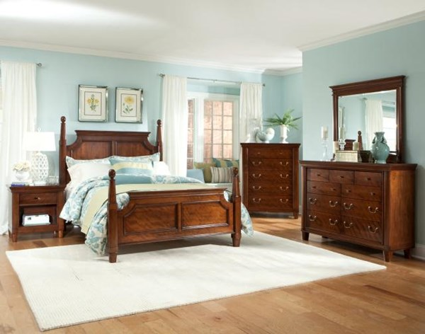 Richmond Traditional Mahogany Master Bedroom Set The Classy Home