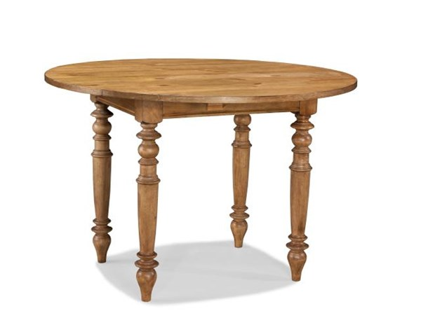 pleasant grove casual americana golden wheat round drop leaf pub table the classy home. Black Bedroom Furniture Sets. Home Design Ideas