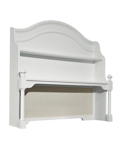 Madison Youth Natural White Wood Desk Hutch LGC-2830-6200