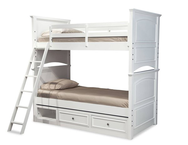 Legacy Furniture Madison White Drawer Storage Bunk Beds LGC-2830-8110-TR-BNK-VAR
