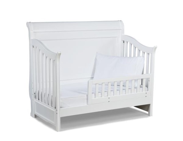 Madison Lifestyle Natural White Toddler Daybed & Guard Rail LGC-2830-8920