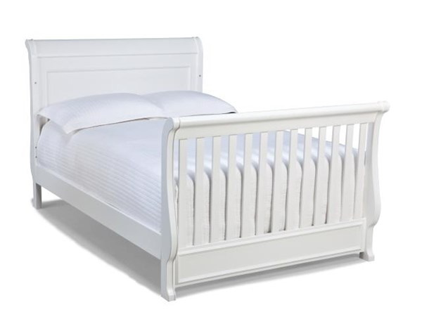 Madison Lifestyle Natural White Bed Rails Converter Crib To Full Bed LGC-2830-8930
