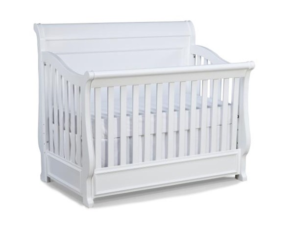 Legacy Furniture Madison White Convertible Crib LGC-2830-8900