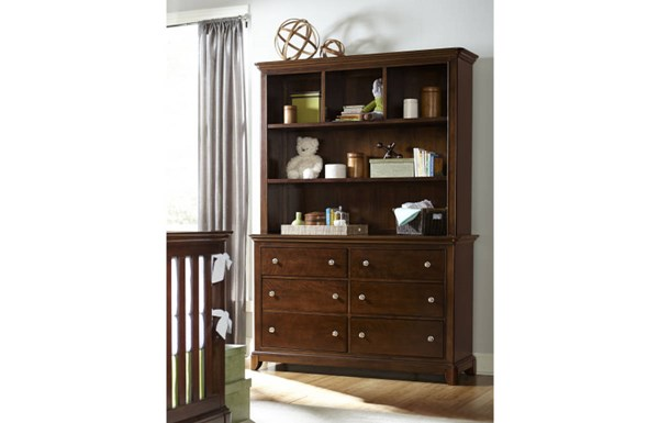 Impressions Clear Cherry Wood Bookcase/Hutch LGC-2880-7201