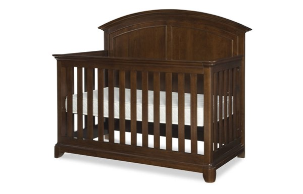 Impressions Cherry Wood Convertible Crib w/Toddler Daybed & Guard Rail LGC-2880-8900-20
