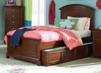 Impressions Youth Clear Cherry Wood Twin Bed LGC-2880-4103K-TPTSB