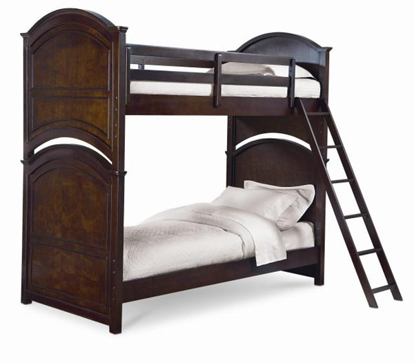 Impressions Transitional Clear Cherry Solid Wood Bunk Beds LGC-2880-8110-BNK-VAR