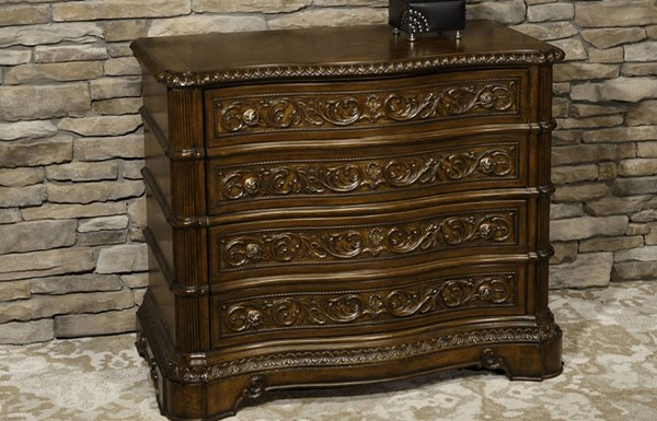 Pemberleigh Burnished Edges Wood File Chest LGC-3100-081