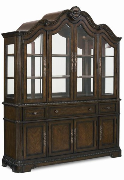 Pemberleigh Gracious Living Walnut China Hutch LGC-3100-372