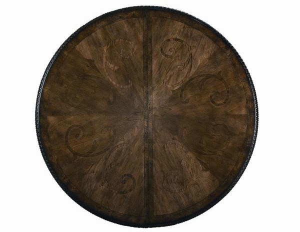 Pemberleigh Gracious Living Walnut Round to Oval Table-Top LGC-3100-521-T