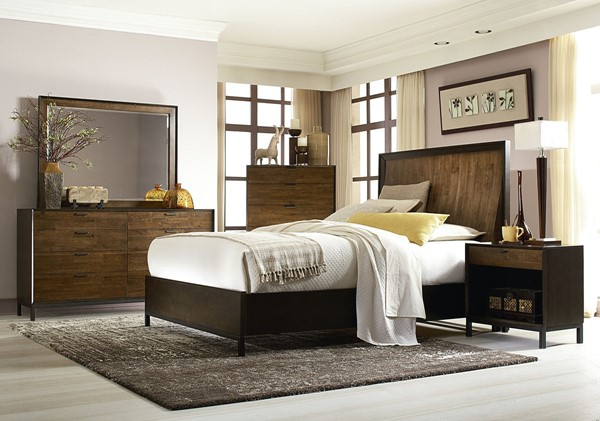 Legacy Furniture Kateri Hazelnut Master Bedroom Set LGC-3600-4105-BR