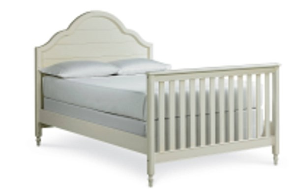 Inspirations By Wendy Bellissimo Mist Wood Full Bed w/Convertible Crib LGC-3830-8930-BED