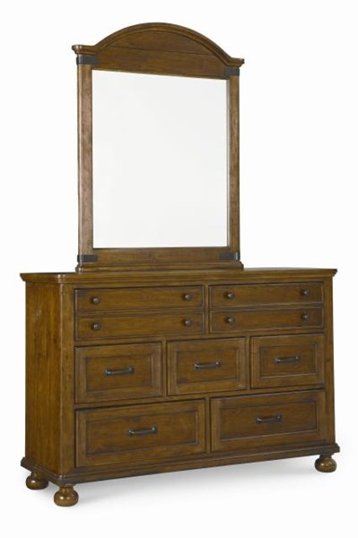 Bryce Canyon Traditional Pine Wood Dresser LGC-3900-1100