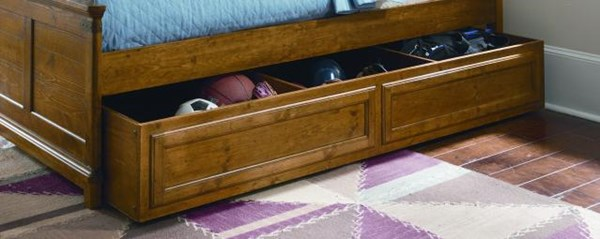 Bryce Canyon Pine Underbed Trundle Storage LGC-3900-9500