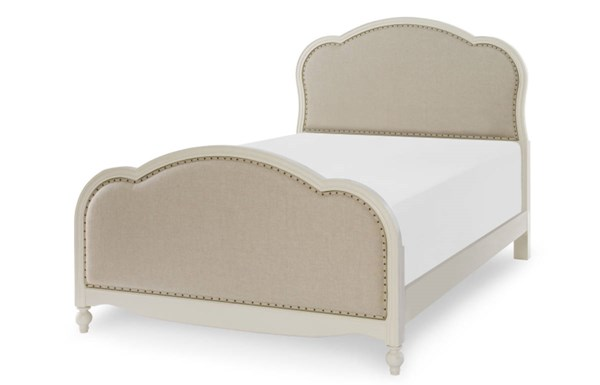 Legacy Kids Harmony by Wendy Bellissimo White 2pc Bedroom Set with Full Bed LGC-4910-BR-S16