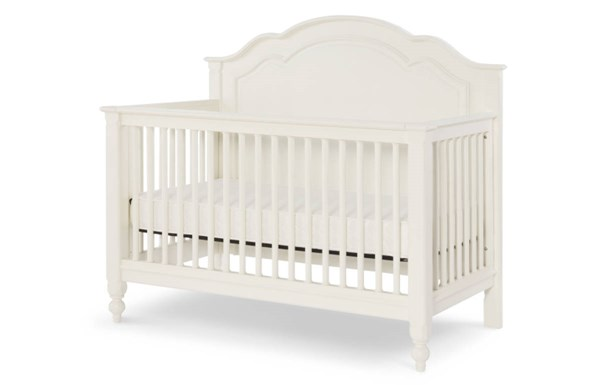 Legacy Kids Harmony by Wendy Bellissimo White Grow with Me Convertible Crib LGC-4910-8900