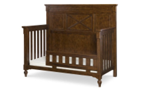 Big Sur By Wendy Bellissimo Brown Wood Toddler Daybed And Guard Rail LGC-4920-8920
