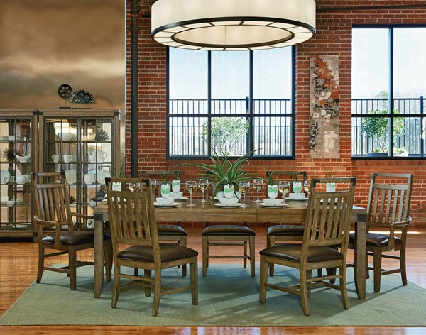 Legacy Furniture Metalworks Chic Dining Room Set LGC-5610-DR