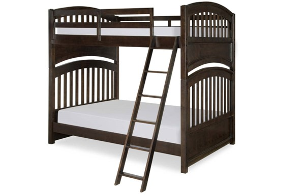 Academy Traditional Molasses Wood Twin/Twin Bunk Bed LGC-5810-8110K