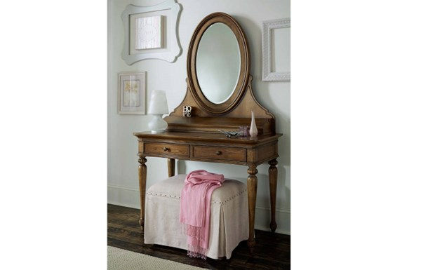 Danielle Traditional Wood 2 Drawers Vanity Set LGC-5840-VNT-S1