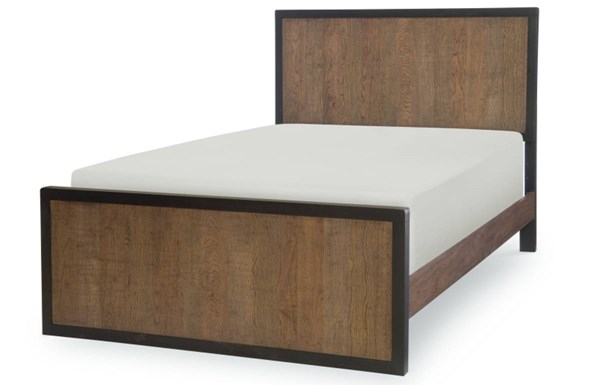Fulton County Tawny Brown Wood 2pc Bedroom Set W/Full Panel Bed LGC-5900-BR-S3