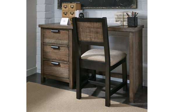 Fulton County Tawny Brown Wood Desk Chair LGC-5900-640KD