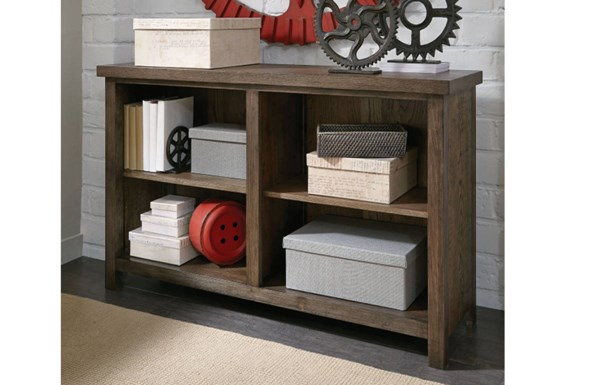 Fulton County Tawny Brown Wood Bookcase W/2 Adjustable Shelves LGC-5900-7200