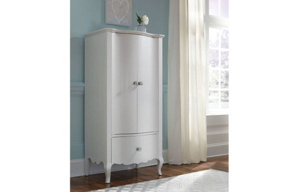Tiffany Pearlized White Wood Lingerie Chest LGC-5930-2300