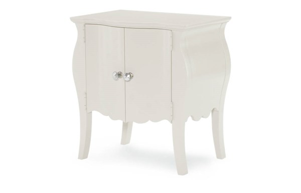 Tiffany White Blue Wood Night Stands W/Doors LGC-5930-NS-VAR