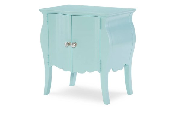 Tiffany Powder Blue Wood Door Nightstand LGC-5930-3101A