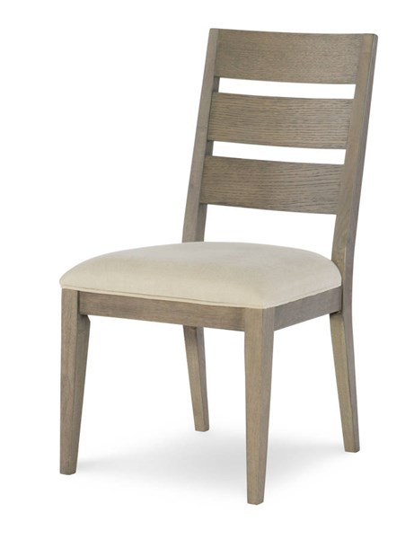 2 Legacy Furniture Highline by Rachael Ray Light Beige Greige Ladder Back Side Chairs LGC-6000-140-KD
