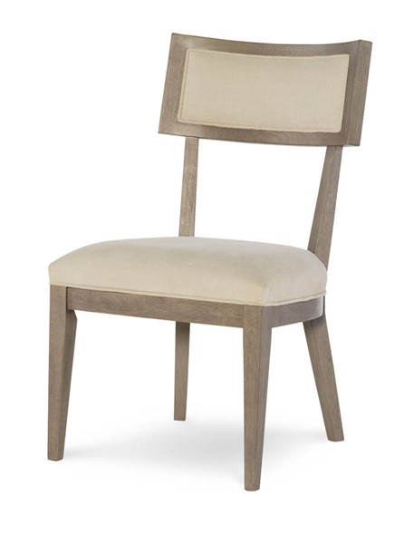 2 Legacy Furniture Highline by Rachael Ray Light Beige Greige Klismo Side Chairs LGC-6000-340-KD