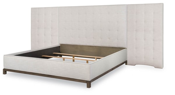 Legacy Furniture Highline by Rachael Ray Greige Upholstered Wall Beds LGC-N6000-4715K-BEDS-VAR