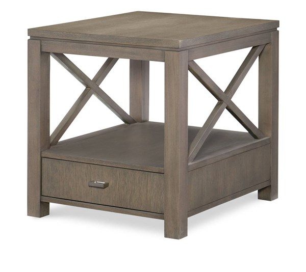 Legacy Furniture Highline by Rachael Ray Greige End Table LGC-6000-507
