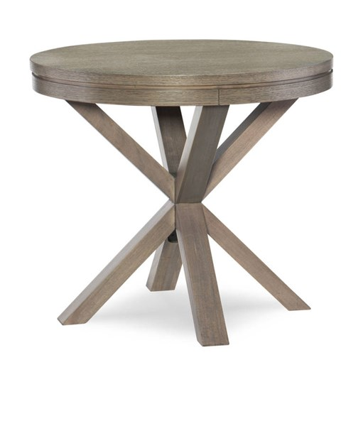 Legacy Furniture Highline by Rachael Ray Greige Round Lamp Table LGC-N6000-508