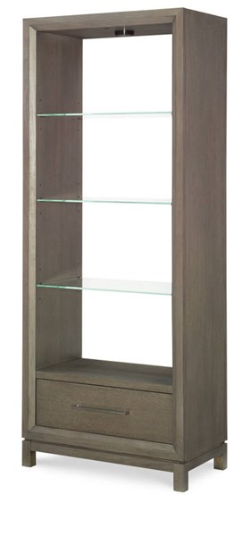 Legacy Furniture Highline By Rachael Ray Greige Etagere
