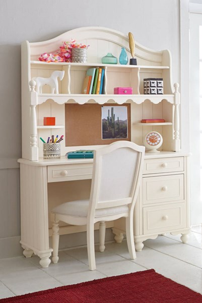Legacy Kids Summerset Ivory Desk with Hutch LGC-6481-6100-6200