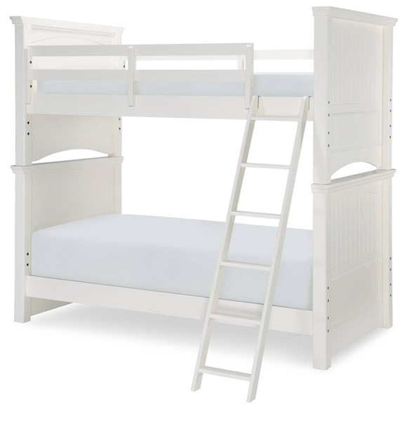 Legacy Kids Summerset Ivory Bunk Beds with Trundle Storage Drawer LGC-6481-BBED-TD-VAR
