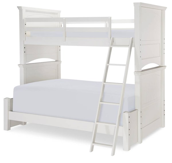 Legacy Kids Summerset Ivory Complete Twin Over Full Bunk Bed LGC-6481-8140K