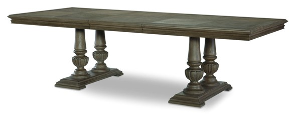Legacy Furniture Manor House Cobblestone Double Pedestal Table LGC-8200-621K
