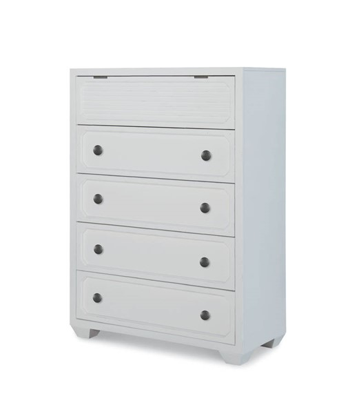 Legacy Furniture Willow Creek Aged White Drawer Chest LGC-8330-2200
