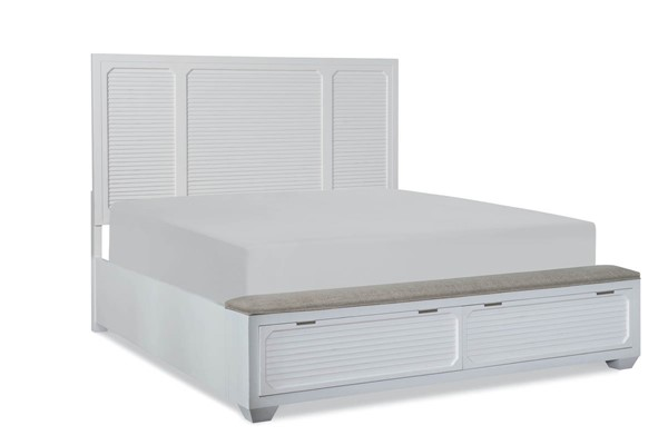Legacy Furniture Willow Creek Aged White Drawer Beds LGC-8330-4225K-DWR-BEDS-VAR