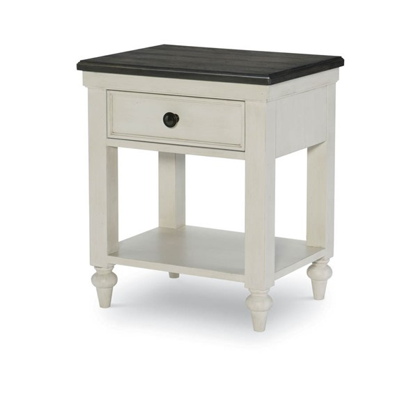 Legacy Kids Brookhaven Youth Vintage Rustic Dark Open Night Stand LGC-8940-3101