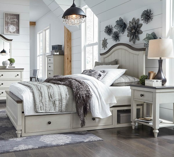 Legacy Kids Brookhaven Youth Vintage Rustic Dark 2pc Kids Bedroom Set with Twin Drawer Bed LGC-8940-4103K-KBR-T-DWR-S1