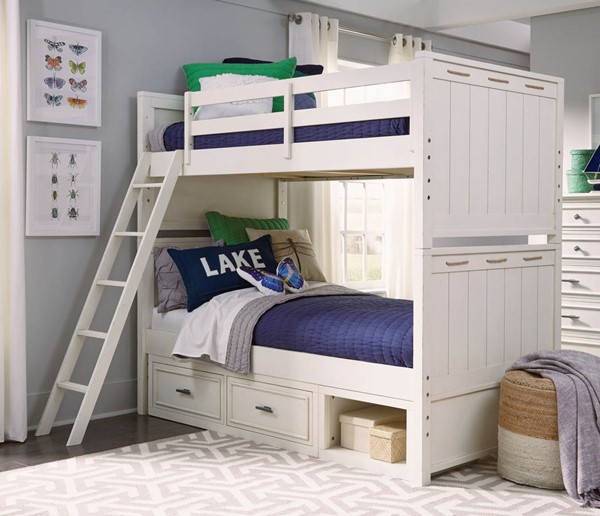 Legacy Kids Lake House Drawer Bunk Beds LGC-8971-8110K-DWR-BNK-BED-VAR