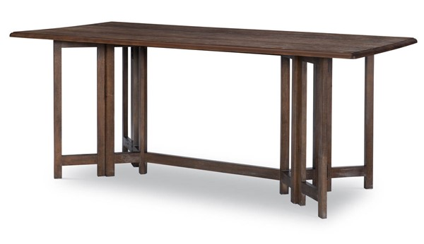 Legacy Furniture Refined Rustic by Rachael Ray Brown Drop Leaf Console Table LGC-9050-406