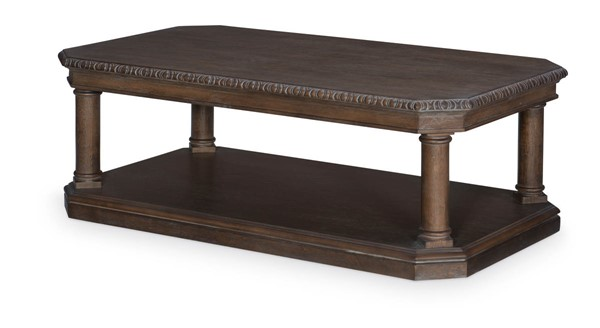 Legacy Furniture Refined Rustic by Rachael Ray Brown Cocktail Table LGC-9050-501